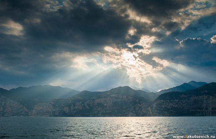 фотографии озера Гарда - Таким пейзажем любоваться можно бесконечно!