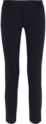 Raoul Stretch cotton-blend skinny pants - Shop for women's Pants - Midnight blue Pants