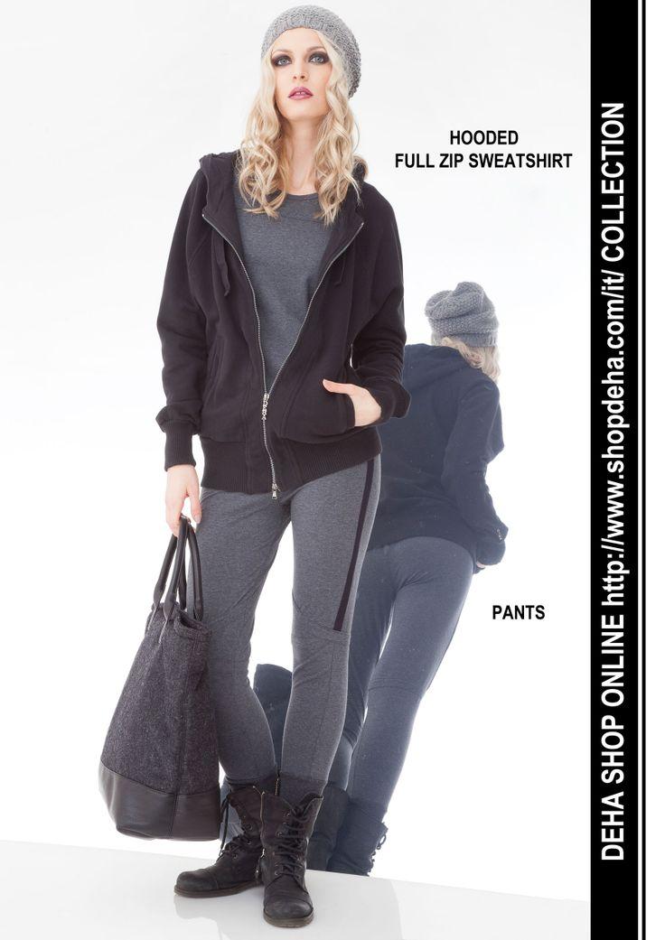Per il vostro shopping online #SALDI #DEHA #sweatshirt #pants http://www.shopdeha.com/it/ http://www.shopdeha.com/it/collection/144-felpa-cappuccio.html http://www.shopdeha.com/it/collection/121-pantalone.html