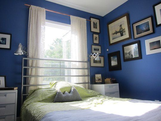 Ingrid's Saturated Colors Small Cool Contest | Apartment Therapy