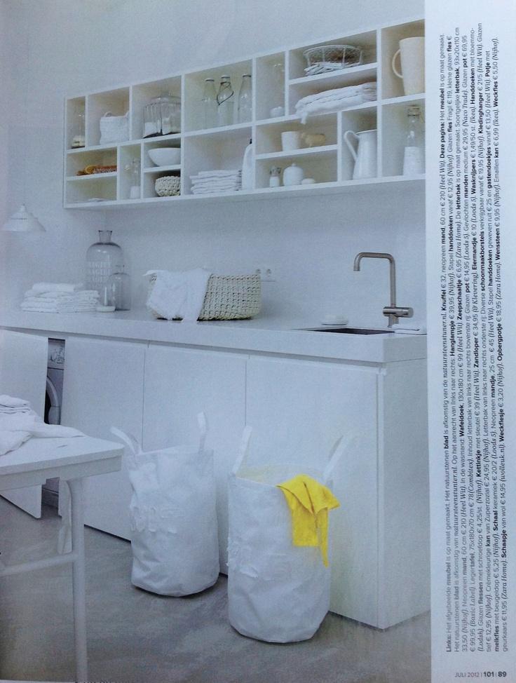 Waskamer of berging