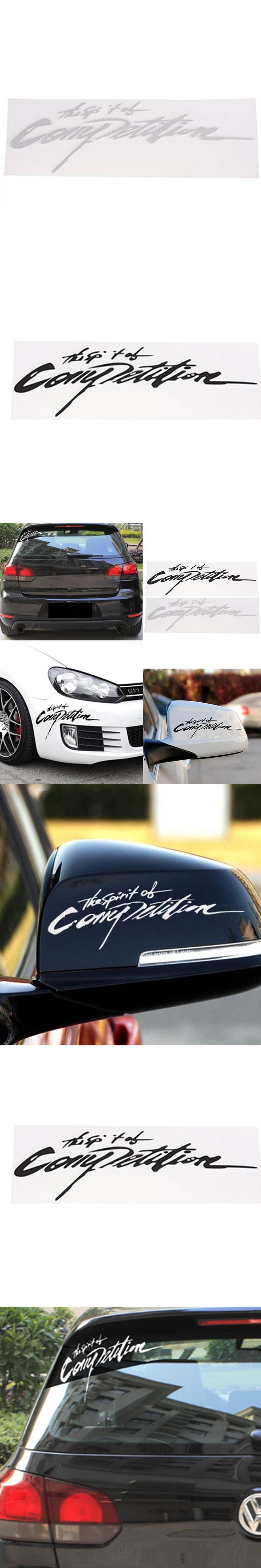32*11CM Speed And Passion Beauty Fashion Creative Car Body Stickers Personalized Reflective Body Stickers