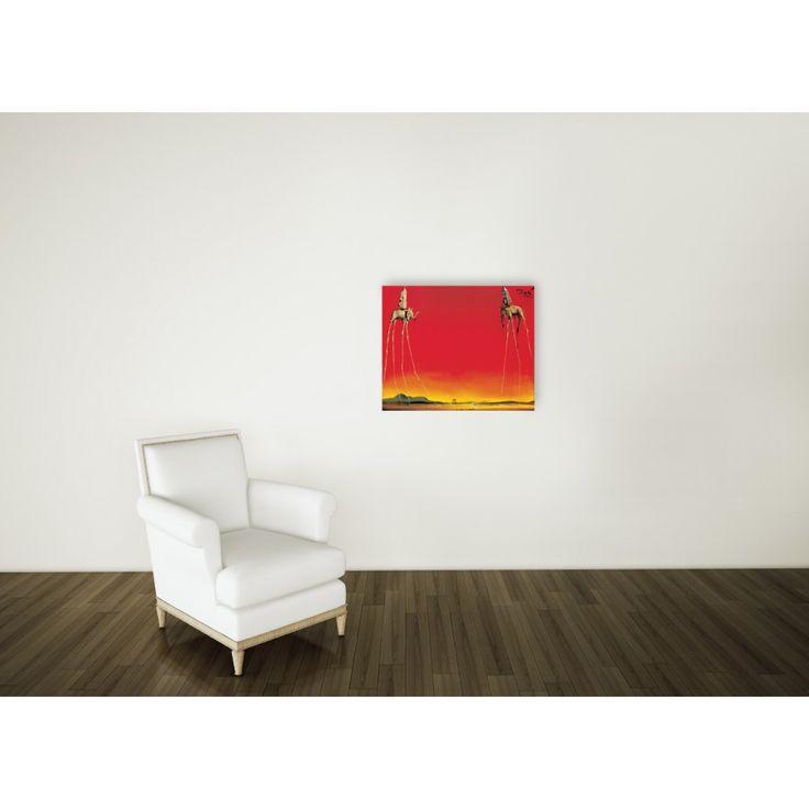 DALÌ - Les elephants 68x55 cm #artprints #interior #design #art #print #iloveart #followart #artist #fineart #artwit  Scopri Descrizione e Prezzo http://www.artopweb.com/autori/salvador-dali/EC21641