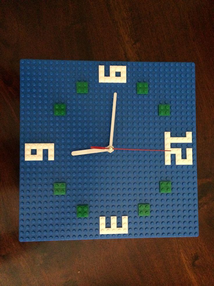 Working Lego clock. Made for my nephew Jack.