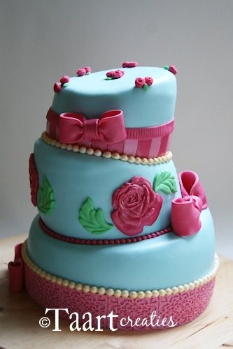 Echt en Moore taart ik wou datik die ook kon maken
