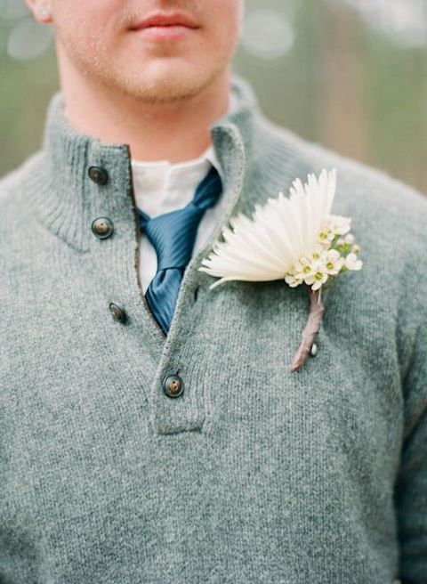 22 Sweater Looks for Grooms And Groomsmen | HappyWedd.com