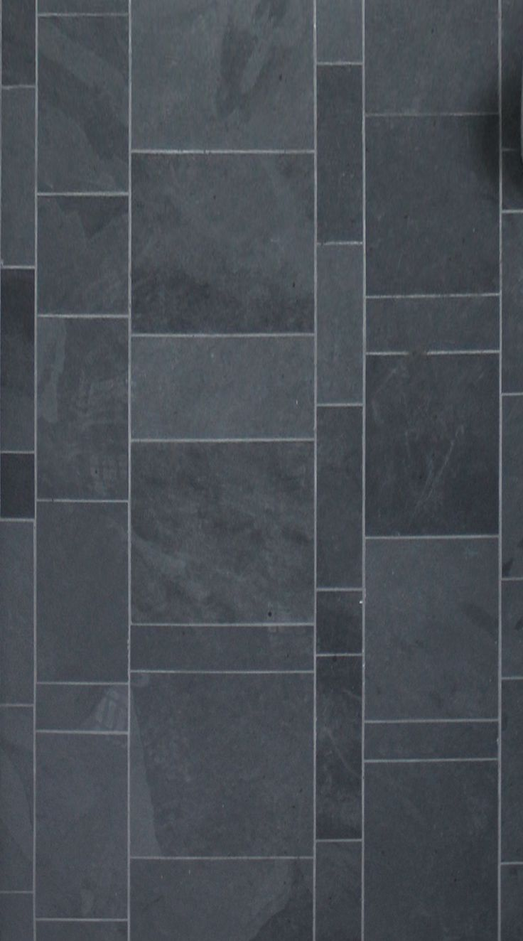Floor Tile | Natural Stone | Black Slate | Alchemy Architects | www.weehouse.com