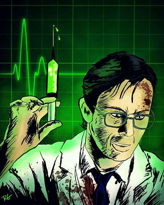 Check out this item in my Etsy shop https://www.etsy.com/ca/listing/558888481/the-re-animator-dr-herbert-west-jeffrey