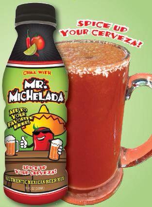 Spice up your cerveza! Authentic Michelada mix.