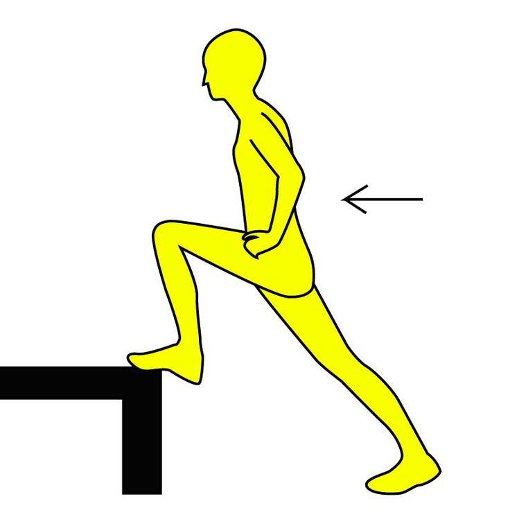 iPhoneアプリは→ https://itunes.apple.com/jp/app/minnaga-shouseta!1ri5fen-shuidemo/id581817739?mt=8 【踏み込みエクササイズ】  ■やり方 ※画像参照 1.ひざくらいの高さの 椅子やソファ(動かない ものであれば何でもOK) の前に立ち、大股一歩分離れます。  2.片足を椅子などに乗せ、 背筋を伸ばします。 両手は腰にあてましょう。  3.ゆっくりと息を吐きながら、  前足に体重を乗せていきます。  ※画像参照  4.しっかりと前足に体重がのったら  前足の力だけでゆっくりと  元に戻ります。  5.元に戻ったら間をあけずに、  再び前足に体重を乗せていきます。  これを片足10回ずつ。合計20回を3セット行いましょう!  太もも、お尻に効果のあるエクササイズですので、下半身太りが気になる人は是非試してみましょう♫  https://itunes.apple.com/jp/app/minnaga-shouseta!1ri5fen-shuidemo/id581817739?mt=8