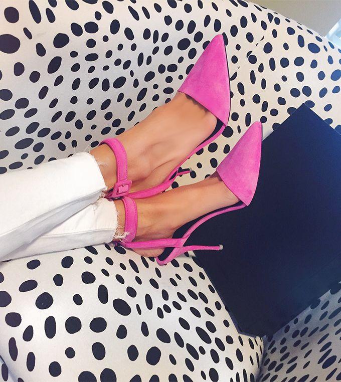 Pink Pumps http://www.hellofashionblog.com/2015/02/pink-pumps.html #MakeupCafe