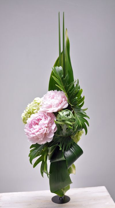 Bouquet pivoine