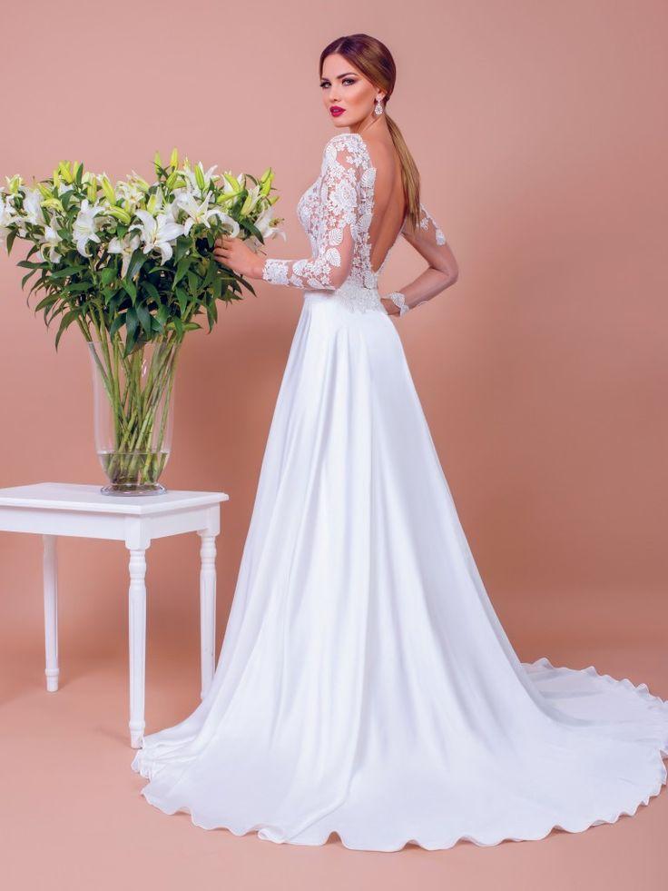 Sienna, a-line wedding dress by BIEN SAVVY