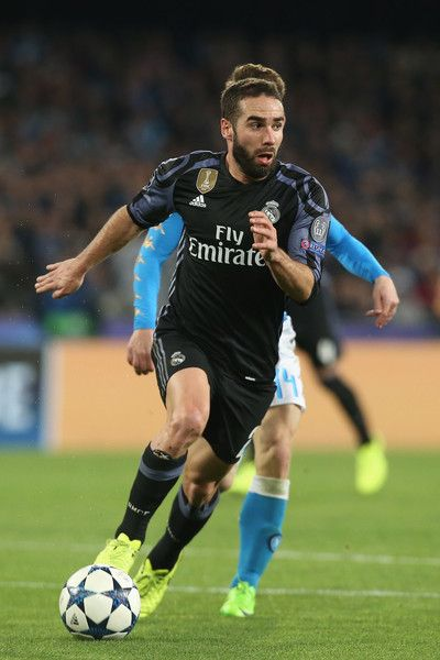 b0e7a3b246d Dani Carvajal Photos Photos - Dani Carvajal of Real Madrid during the UEFA  Champions League Round ...