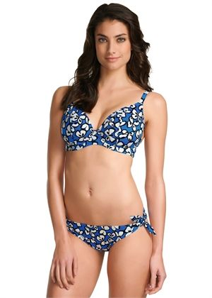Madame Butterfly  Plunge Bikini Top  - from Freya - great shape and fit for bigger busts!