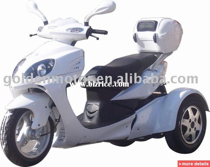 125cc eec tricycle mobility tricycle handicapped for 3 wheel motor scooter for sale