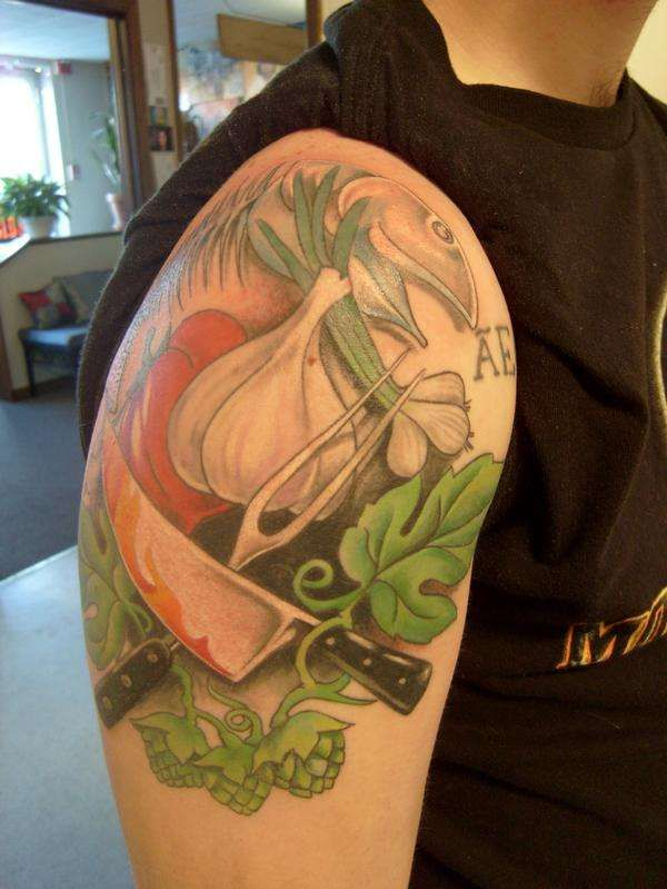 would love to have a culinary inspired sleeve done when I finish culinary school!