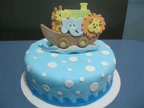 Noah S Ark Birthday Cake