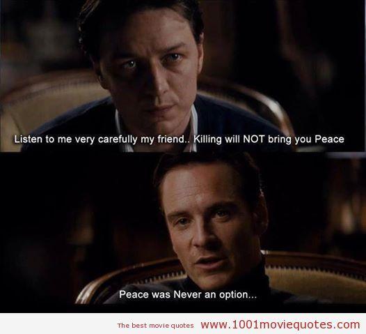 X-Men: First Class (2011) | Wise words | X men, Marvel ...