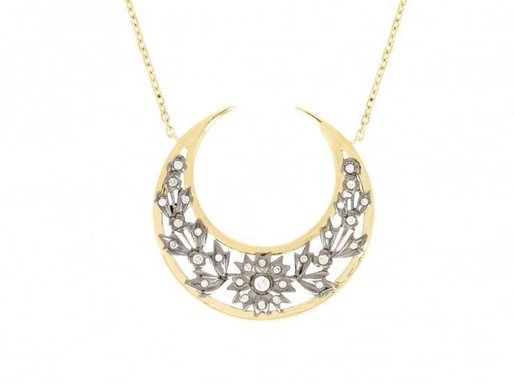 Gold necklace 875
