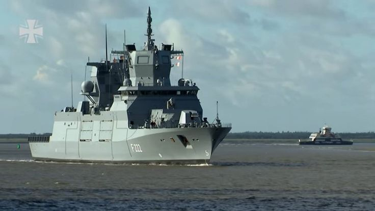 FOX NEWS: German Navy's new state-of-the-art warship sails into tech trouble