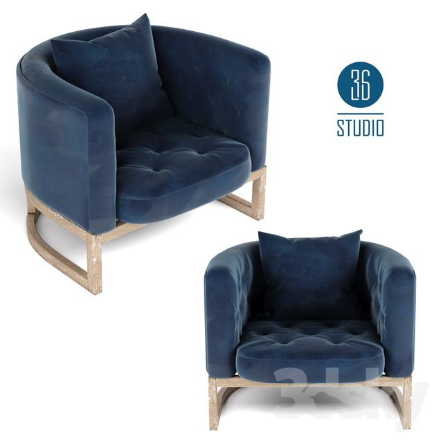 3d Models Arm Chair Om Armchair Model S30101 From Studio 36