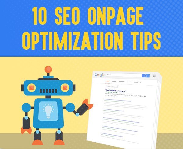 In SEO, on-page optimization denotes those conditions that have an effect on your Web site or Web page listing in a top search engine results like Google, Yahoo, Bing.