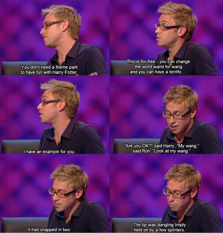 Russell Howard on Harry Potter!