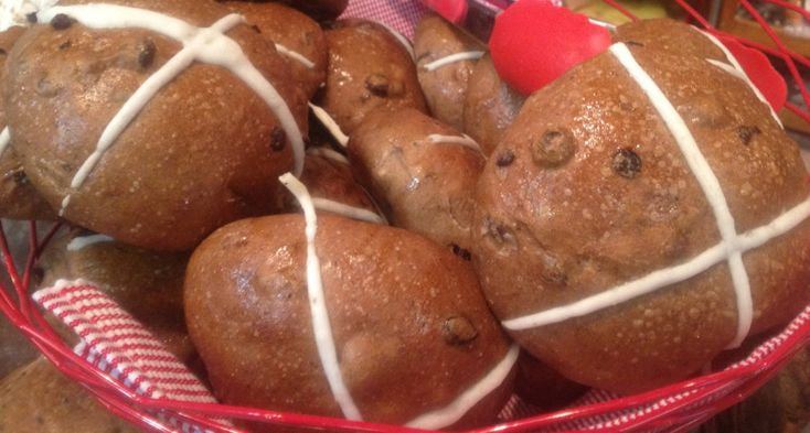 Fresh at the markets: Hot cross buns- InDaily