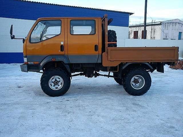 Mitsubishi Canter 4WD, 1993 - Trucks