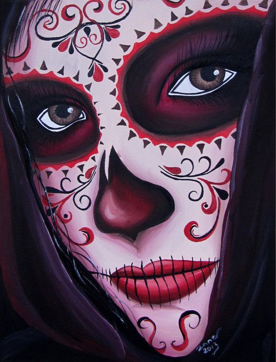 sugar skulls of women - Google Search