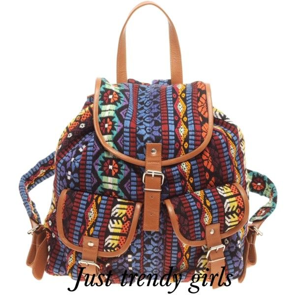 tribal backpack- Trendy backpacks for college see collection http://www.justtrendygirls.com/trendy-backpacks-for-girls/