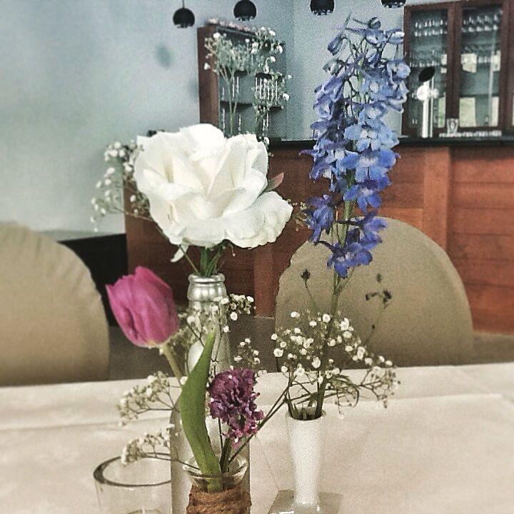 Three vases combined for one look @De Boschvijver