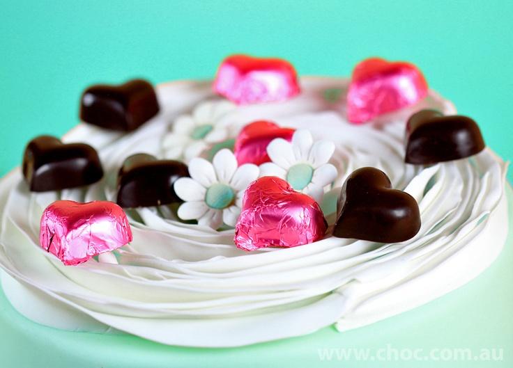 Simple is nice...decorate your wedding with chocolates  www.choc.com.au
