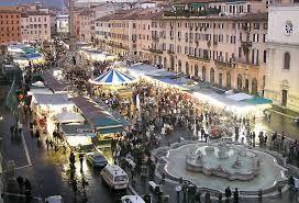L' Albero di Natale: Natale 2015 a Piazza Navona: si gioca!!!