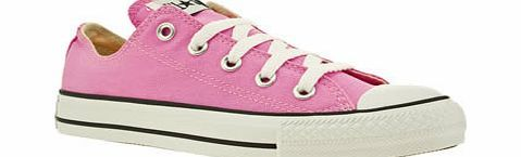 Converse Pale Pink All Star Oxford Pink Trainers Converse presents the shoe that needs no introduction. Staying true to its iconic roots, this style flaunts classic details for All Star potential. Fresh fabric upper with a robust rubber toe cap sect http://www.comparestoreprices.co.uk/womens-shoes/converse-pale-pink-all-star-oxford-pink-trainers.asp