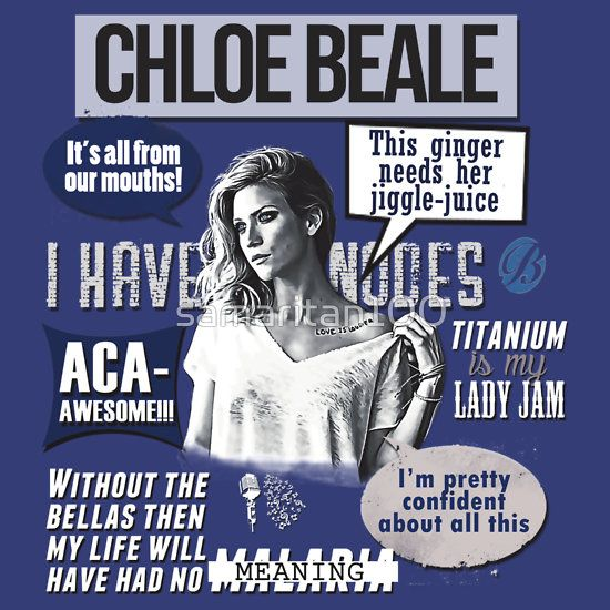 Chloe Beale - Pitch Perfect - Bechloe - Brittany Snow