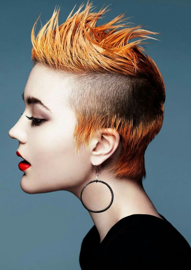 Avant garde haircut