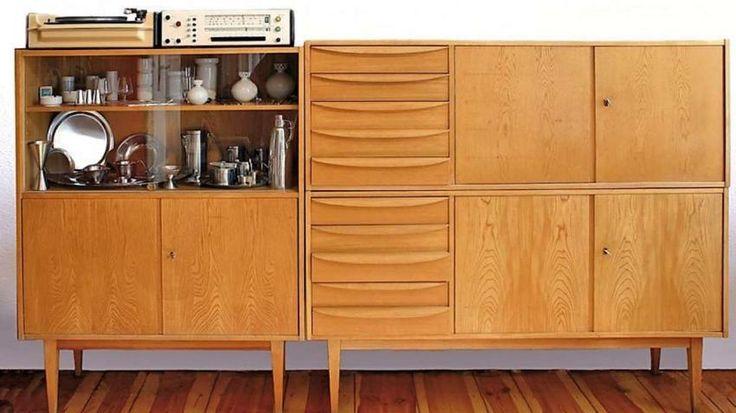 Als Typensatzserie 602 wurde diese Möbelserie des VEB Deutsche Werkstätten Hellerau ab 1956 bekannt.