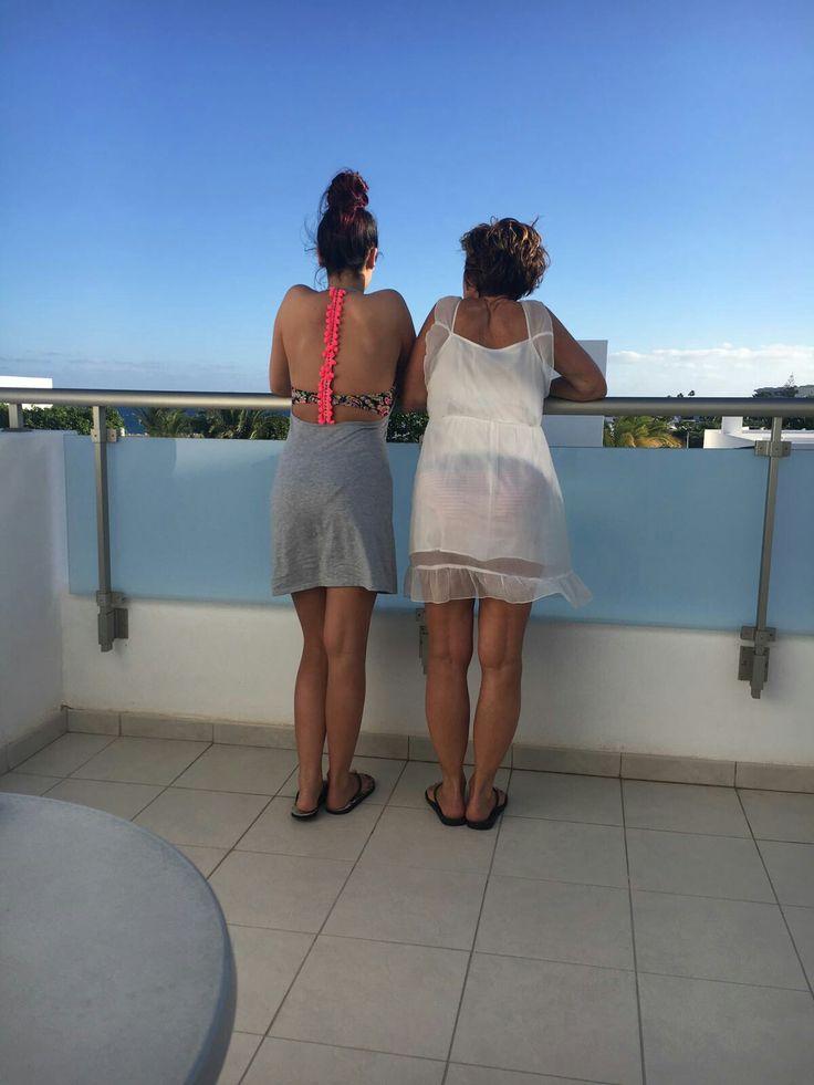 Mooie week in Lanzarote met mn dochter