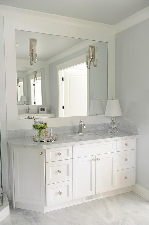 17 best ideas about corner showers on pinterest - Small bathroom vanity mirror ideas ...