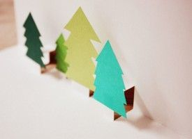 How Tuesday: Pop-Up-Weihnachtskarte on Etsy