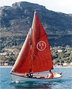 Plywood Parts Kit Available - Explorer 18 GRP classic sailing dinghy
