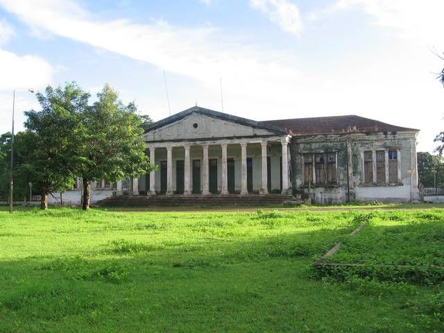 Bolama, Guinea-Bissau//Capital of the country until 1941, has some magnificent examples of colonial architecture and has been suggested as a world heritage site.