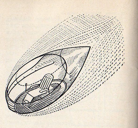 Georgii Krutikov, The Flying City (VKhUTEMAS diploma project, 1928) | The Charnel-House