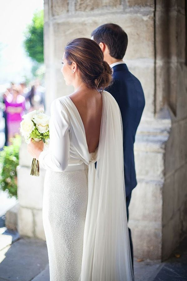 45 Long Sleeved Wedding Dresses for Fall & Winter Brides - Wedding Party