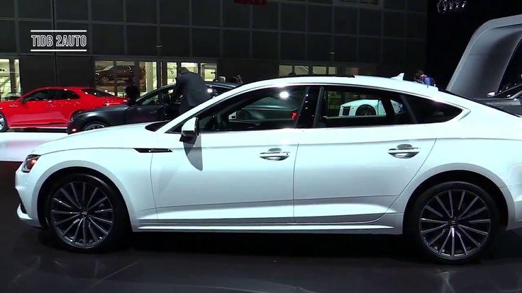2018 Audi A5 Sportback - 2017 LA Auto Show - Exterior and Interior Walka...