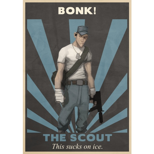 scout - team fortress 2