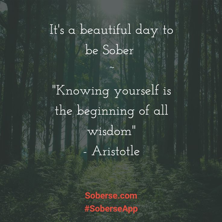 It's a beautiful day to be sober - visit http://soberse.com