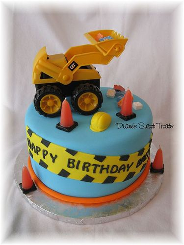 construction birthday cakes - Google Search